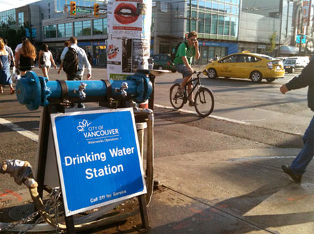 City of Vancouver supports public drinking water stations (2/3)