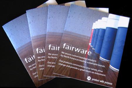 Fairware brochure fan