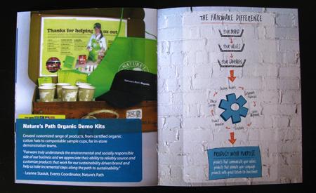 last page Fairware brochure
