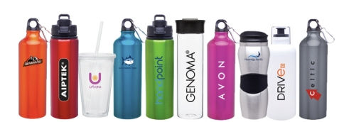 ETS water bottles