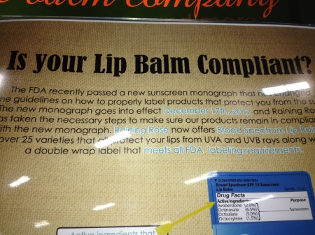 Does your lip balm have a pedigree?